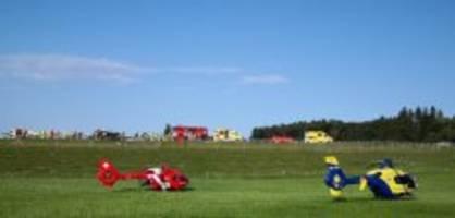 Oberbüren SG : Zwei Tote und vier Verletzte bei Unfall auf A1