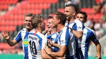 Covic jubelt: Hertha löst erste Bayern-Prüfung locker