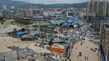 Wirbelsturm Lekima fegt über China – mindestens 32 Tote