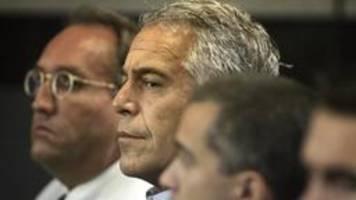 Fall Epstein: Der Schock und viele Fragen bleiben