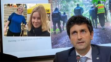 Mysteriöser Fall in München: Mutter und Tochter vermisst: In Wald entdeckte Blutspur erhärtet Mordverdacht gegen Ehemann