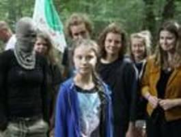 Foto von Greta Thunberg aus dem Hambacher Forst sorgt für Wirbel