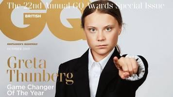 Game Changer Award: Greta Thunberg posiert für Männermagazin GQ