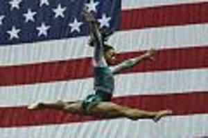 US-Star begeistert - Simone Biles zeigt Sprung, den zuvor noch keine Turnerin stehen konnte