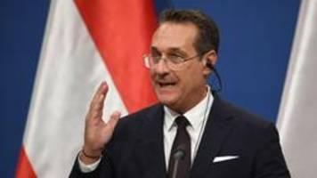 Österreich: Durchsuchungen bei Ex-FPÖ-Chef Strache