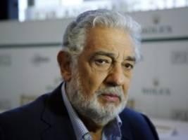 Vorwurf sexueller Belästigung: Immer mehr Opernhäuser laden Plácido Domingo aus