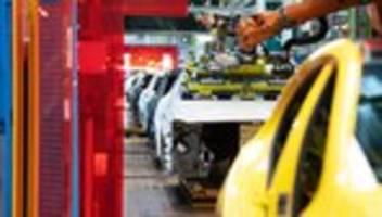 Konjunktur: Deutsche Wirtschaftsleistung sinkt im zweiten Quartal