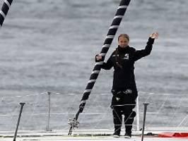 Greta Thunberg sticht in See: Ich weiß nicht, wann ich heim komme