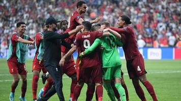 Sport kompakt: Liverpool gewinnt europäischen Supercup nach Elfmeterschießen