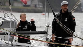 News von heute: Startschuss: Greta Thunberg zu Atlantik-Überquerung aufgebrochen