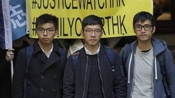 Proteste in Hongkong: Mit Hemd und Hornbrille: Diese Millennials sind die führenden Köpfe des Widerstandes in Hongkong