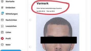 rassismus: kein deutschstämmiges aussehen – stadt braunschweig bedauert foto-vermerk in blitzerakte