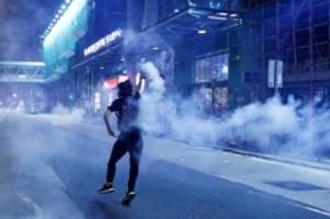 Demonstrationen: Hongkong-Proteste heizen Konflikt zwischen USA und China an
