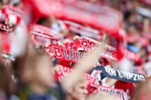 Fußball: Sieben Stammspieler fehlen im Training von RB Leipzig