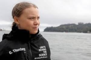 """Klimaaktivistin: """"Ich freue mich"""": Gretas größtes Abenteuer hat begonnen"""