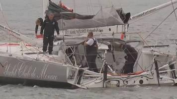 Video: Greta sticht in See