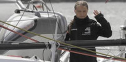 Aktivistin startet Atlantikquerung: Greta setzt Segel