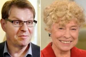 Parteien: Schwan und Stegner greifen nach SPD-Vorsitz