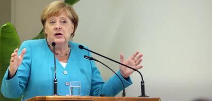 Straffes Programm nach dem Urlaub – Angela Merkel ist zurück