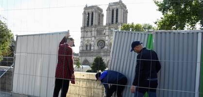 Notre-Dame immer noch vom Einsturz bedroht – Hitzewelle wird zur Gefahr