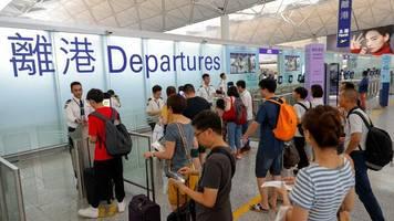 Demonstrationen: US-Regierung ruft Hongkong-Reisende zu Wachsamkeit auf