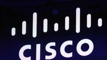 US-Netzwerkausrüster: Cisco blickt skeptisch aufs laufende Quartal