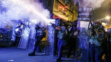 China in Hongkong-Krise: Die Angst vor einer militärischen Eskalation wächst