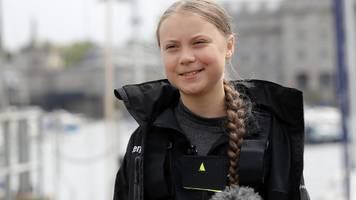 Greta Thunberg startet zweiwöchige Atlantikreise