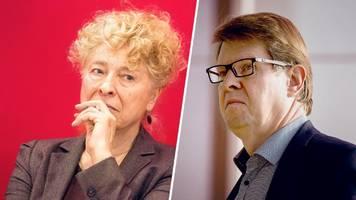 Bericht: Gesine Schwan und Ralf Stegner kandidieren gemeinsam für SPD-Vorsitz