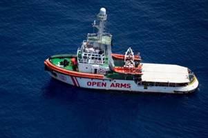Open Arms darf in italienische Gewässer fahren