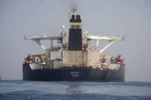 Mit iranischem Öl beladen: Gibraltar will Supertanker Grace 1 freigeben