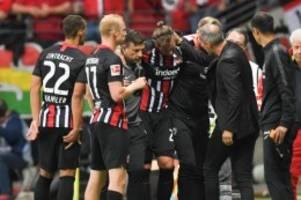 Schwere Verletzung: Eintrachts Russ mit Verdacht auf Achillessehnenriss
