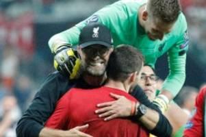 uefa-supercup: ersatz-keeper adrián bringt klopp völlig aus dem häuschen
