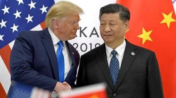 Proteste: Krise in Hongkong: Trump bringt Treffen mit Chinas Präsident Xi ins Spiel