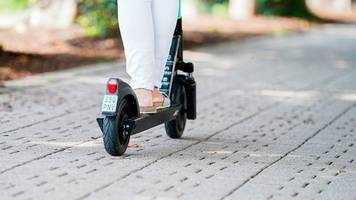 Rat von Tüv-Experten: Vor der ersten Fahrt mit dem E-Scooter üben