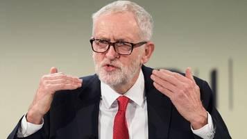 So will Labor-Chef Corbyn Johnson stürzen