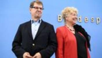 Gesine Schwan und Ralf Stegner: Mit mehr Mut aus der Krise