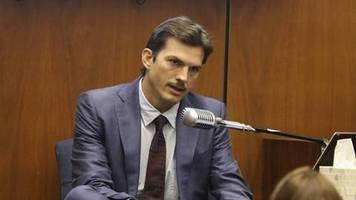 ashton kutcher: der mörder seiner ex-freundin ist schuldig