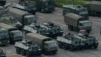 Deutliche Warnung: Chinesische Staatszeitung droht Hongkongs Protestbewegung mit gewaltsamer Lösung