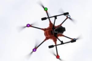 forschung: drohnen dürfen auf testgelände in horstwalde hoch fliegen