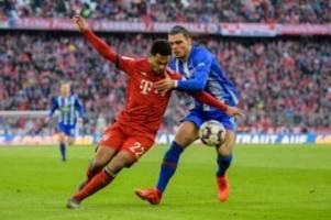 Bundesliga: LIVE Hertha fordert Meister Bayern München