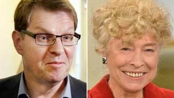 Schwan und Stegner präsentieren sich als Kandidaten für den SPD-Vorsitz