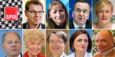 Kandidaten für SPD-Vorsitz: Neue Namen für die SPD-Spitze