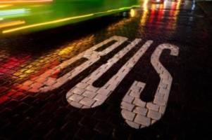 straßenverkehrsordnung: viel kritik an busspur-plänen - aber lob für andere ideen