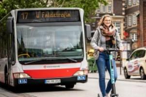 Hamburg: Scheuer will Busspuren für Pkw und E-Roller öffnen