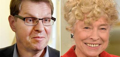 Ralf Stegner und Gesine Schwan äußern sich zur Kandidatur