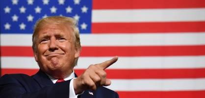 """Trump geht von """"ziemlich kurzem"""" Handelskrieg mit China aus"""