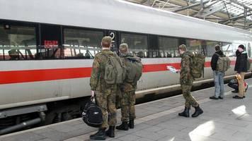 Verteidigungsministerium: Einigung bei kostenlosen Bahnfahrten für Soldaten