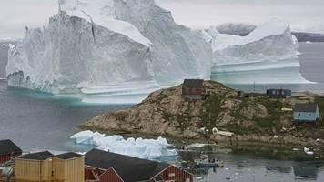 angebliches interesse: will trump grönland kaufen? arktis-insel ist irritiert