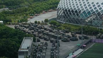 Deutliche Warnung: Peking droht Demonstranten in Hongkong mit Gewalt